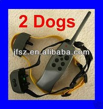 Newest and best !luxury dog collars for one or two dogs with one year warranty for E328B in 2012