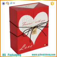 Paper custom gift boxes small quantity wholesale rigid paper box