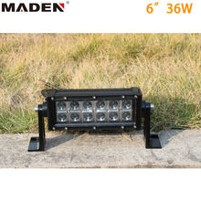 Dual row led light 6'' tuning light led light bar for 4x4 MD-8207-36