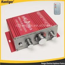 Kentiger 2 channel switching power car amplifier, audio amplifier