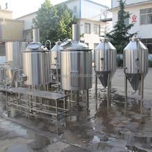 industriale caldaia a vapore rivestito birra vasi di fermentazione attrezzature per la vendita