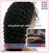 Invisible knots realistic Scalp Virgin Malaysian Deep curly Full lace wig dolly parton wigs catalog