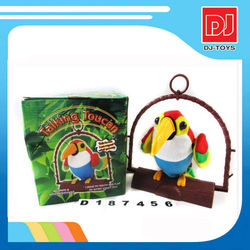 Sound control bird toys ,talking bird toys for sale , singing bird D187456