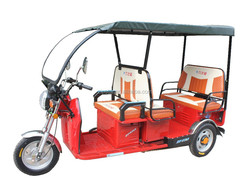 Three Wheels Electric Tricycle / 2015 New Model Rickshaw / 5 Seats