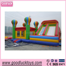 Special Giant kids balloon bouncer Inflatable Obstacle Course for sale,inflatable combo slide