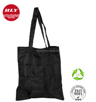 China Factory Wholes Promotion 210D Zipper Nylon Folding Tote Bag