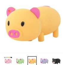 Promotional Gifts Real 16GB Capacity Cute Cartoon Pig Pattern USB Flash Drive
