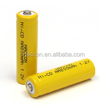 high quality Ni-CD AA v 600MAH 16.8V NI-CD battery pack with cable/wire