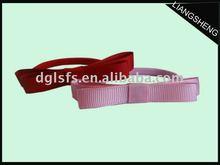 elástico de la cinta de lazo bandas para el cabello al por mayor