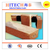 china supplier zibo hitech dead burned magnesite with high refractoriness under load