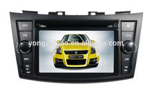 Coche reproductor de vídeo para suzuki- swift 2012