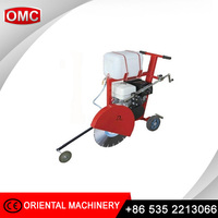Concrete groove cutter machine with HONDA pertrol engine