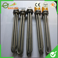 Electric U Type Flange Immersion Tubular Heater for Oil