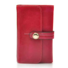 High quality leather purse for young lady