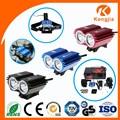 liga de alumínio lanterna elétrica da bicicleta bike luz led conjunto de acessórios