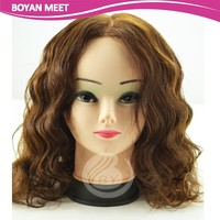 Human Hair Material And Full Lace Wig Technique Chinese Yaki Full Lace Wig