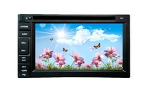 6.2 inch double din universal in dash car dvd player with gps bluetooth