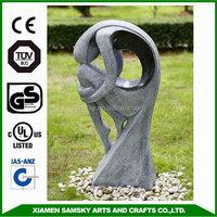 garden fiberglass handmade fountain