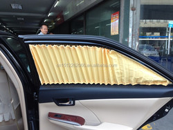 car privacy made silk pressure folding window curtains for BMW 525LI