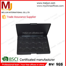 MJ Wholesale 15 pans empty magnetic makeup eyeshadow palette