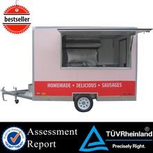 CE catering mobile vans snack van ce mini van