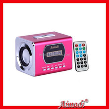 2015 new products mini digital speaker with fm radio function