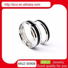 Mens Black Tone Link Stainless Steel companies looking for distributors new products 2015 titanium rings