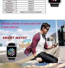 2015 NEW BLUETOOTH SMART WATCH A1 for Samsung,HTC,Iphones,Android phone