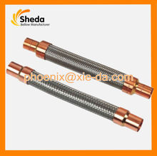 Exhuast Stainless Steel Vibration Absorber Weld Copper Ends