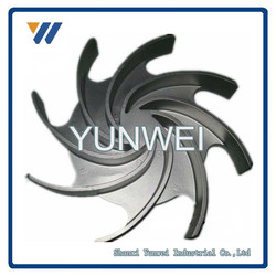 ISO9001 High Quality Precision customized stainless steel impeller for water pumps