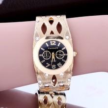 Good Looking Fashion Women Bangle watch Shaped Hollow Rhinestone Ladies Wristwatch.Relogio Feminino.