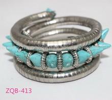 New snake bracelet spike turquoise snake chain bracelet jewelry ZQB-413