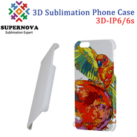 3D Blank Phone Case Cover, Customized Mobile Phone Cover for iPhone 6S, 4.7 inch