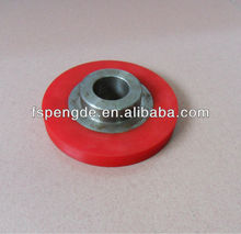 solid plastic wheels with bearings