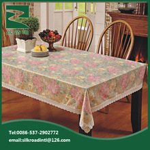 plastic sheet tablecloth/wholesale clear pvc tablecloth/plastic table cloth