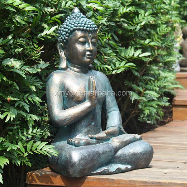 Garden Religious Sculpture Bronze Large Buddha Statue
