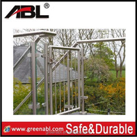 morden garden designs stainless steel collapsible handrail