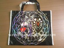 recycle waterproof pp non woven bag,laminated with laser film