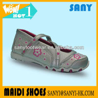 2013 Latest Embroided Chinese Flower Casual Angel Shoes
