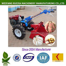 ALIBABA NEW PRODUCTS ON SALE! 8-15HP 2-WHEELED DIESEL TRACTORS WITH GARLIC / SWEET POTATO / POTATO HARVESTER USED FOR SALE !