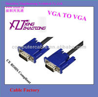 Factory Vga Cable male to male for Computer Monitor LCD 10ft