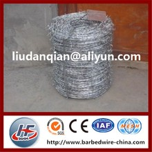 Barbed Wire - Hot sale Australia Standard Product,Durable And Sharp Pvc Coated Barbed Wire(2.5mm)