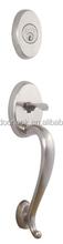 Wrought Iron entry door handle lock for wooden doors F02A-US15
