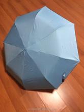 lady style clear rain umbrella 3 fold umbrella