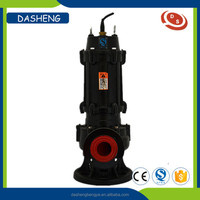 China hot sale non-clog QW sewage submersible standard water pump