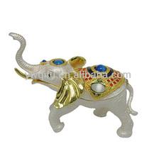 2015 hot selling indian handicraft elephant souvenir items for birthday QF3022