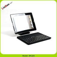 For New iPad 3 Ultrathin Bluetooth Keyboard Case Detachable Removable Keyboard BK325
