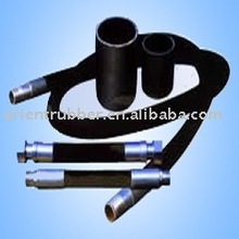 Steel wire spiraled rubber hose