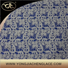 Guipure Fabric Type and Embroidered Technics water soluble lace fabric (YJC30004)