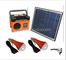 SP7 Solar kits system , brighter lamp, colorful light